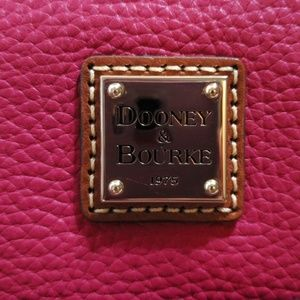 Fushia dooney and burke bag